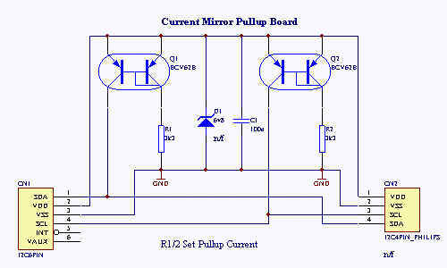 Circuit of Constant Current Pullup
